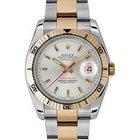 Rolex Datejust 36 116261-SLVSTO Silver Index Turn-O-Graph...