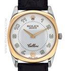 Rolex 18k rose gold and white gold Cellini Danaos