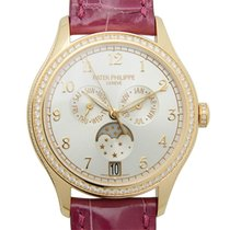 Patek Philippe New  Complications 18 K Rose Gold With Diamonds...