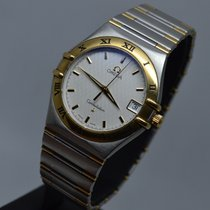 Omega Constellation 34mm Gold Steel LC EU Papers