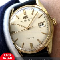 IWC Serviced  IWC Automatic Automatik 18ct gold vollgold
