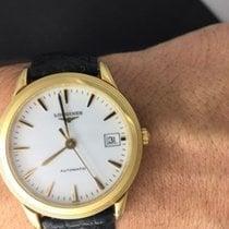 Longines Rare Longines Flagship 18k Gold Automatic Gent's...