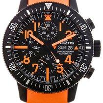 Fortis B-42 Black Mars 500 Automatic Chrono Mens Watch...