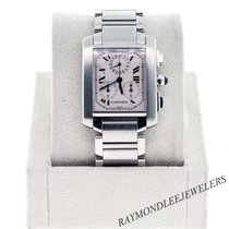 Cartier Tank Francaise W51001Q3 Chronograph Mens Watch