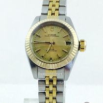 Tudor Princess Oysterdate Two Tone 18K Fluted Bezel  SOLD