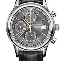 Maurice Lacroix Les Classiques Chronographe Grey Dial, Black...