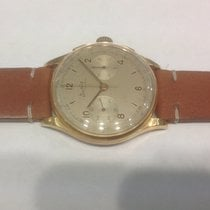 Breitling Cadette chronograph yellow gold ref.1185
