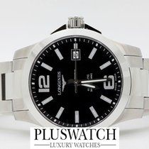 Longines Conquest Automatic 39mm Black Dial New L36764586