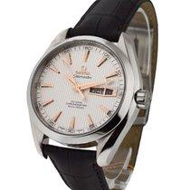 Omega Seamaster Aqua Terra 150M GMT Chronograph in Steel