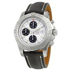 Breitling Colt Chronograph Automatic Stratus Silver Dial Black...