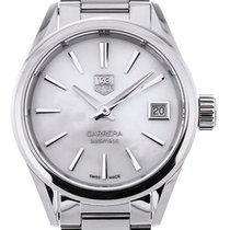 TAG Heuer Carrera Automatic 28 White Mother of Pearl Dial
