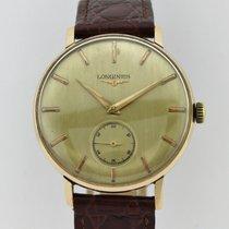 Longines Vintage Chronometer 18k Gold Manual Winding