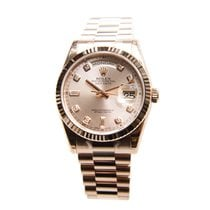 Rolex Day-date 18k Rose Gold Pink Automatic 118235APK