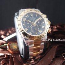 勞力士 (Rolex) Daytona 116523 2-Tone Blue Arabic Dial Box and...
