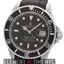 Rolex Submariner Stainless Steel On RubberB X Serial Ref. 16610