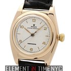 Rolex Oyster Perpetual Bubble Back 14k Rose Gold Circa 1946...