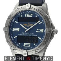Breitling Aerospace Titanium 40mm Blue Dial  Ref. E75362