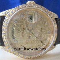 Rolex Day-Date 750/18K GG Ref.18388 Orig.Besatz Zertifikat