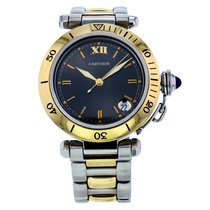 Cartier Pasha Steel And Gold Automatic Bronze Dial Women's...