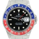 Rolex GMT Master 16700 Stainless Steel Pepsi Bezel Watch