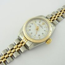 Rolex Lady Oyster Perpetual Ref 67230 26 Mm Edelstahl/gold Mit...