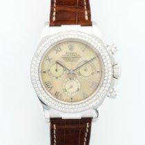 Rolex White Gold Cosmograph Diamond Ref. 116589