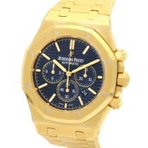 Audemars Piguet Royal Oak Chronograph Navy Dial Yellow Gold...
