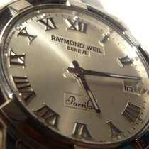 Raymond Weil PARSIFAL St. Steel Watch Model 9541 with Silver...
