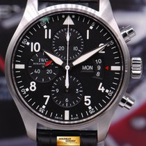 IWC Pilot Fliegeruhr Chronograph 43mm Automatic  Iw3777-01 (mint)