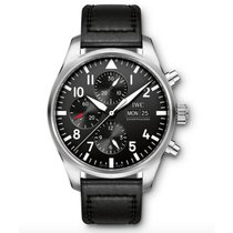IWC Pilots Automatic Chronograph Day Date Mens watch IW377709