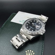 Rolex 1998 ROLEX EXPLORER 2 16570 BLACK DIAL WITH PAPER