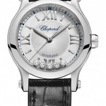 Chopard Happy Sport Automatic Silver Dial Ladies Watch...