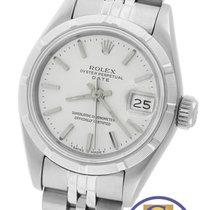Rolex Date 26mm 69190 Stainless Silver Stick Jubilee Watch...