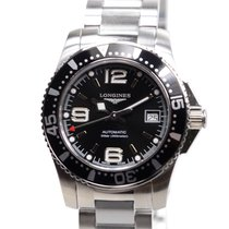 Longines Conquest Stainless Steel Black Automatic L3.284.4.56.6