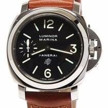 Panerai Luminor Marina Logo Acciaio 44MM Hand-wound Men Watch...