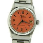 Rolex Oystrdate Precision Pink Dial Stainless Steel