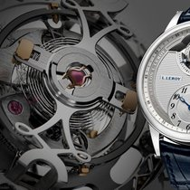 L.Leroy 18K WG Tourbillon Regulator Chronometer LL104-1