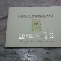 Eberhard & Co. warranty papers booklet aiglon model...