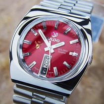 Rado Golden Sabre Rare Stainless Steel Automatic 1970s Mens...