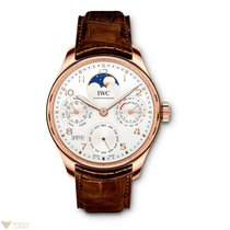 IWC Portuguese Perpetual Calendar Moonphase Automatic Red Gold...