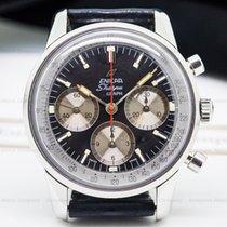 Enicar 072/001 Vintage Sherpa Graph Mark II Black Dial SS (25646)