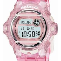 Casio Baby-G Whale - Crystal Pink Band - World Time Chronograp...