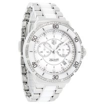 TAG Heuer Formula 1 Diamond White Ceramic Chrono Watch...