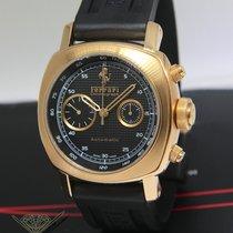 Panerai Ferrari Granturismo Chronograph 18k Rose Gold Watch...