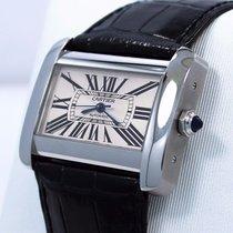 Cartier Tank Divan Large W6300755 / 2612 Steel Automatic Watch...