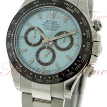 Rolex Cosmograph Daytona, Ice Blue Dial, Brown Ceramic Bezel -...