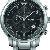 Hugo Boss Gents Chrono HB1512641 Sportliche Herrenuhr Zeitlose...