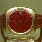 Nivada vintage antartic GLACIER red painted dial auto eta 2472