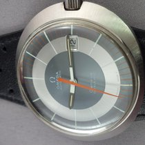 Omega DyNaMiC Slate dial date with extra strap