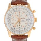 Breitling Navitimer World 18K Solid Rose Gold Automatic